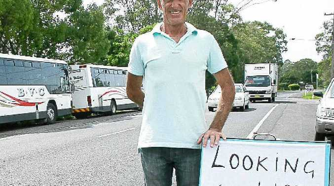 Mullumbimby resident Greg O'Brien said lots of people have offered him support in his search for work.