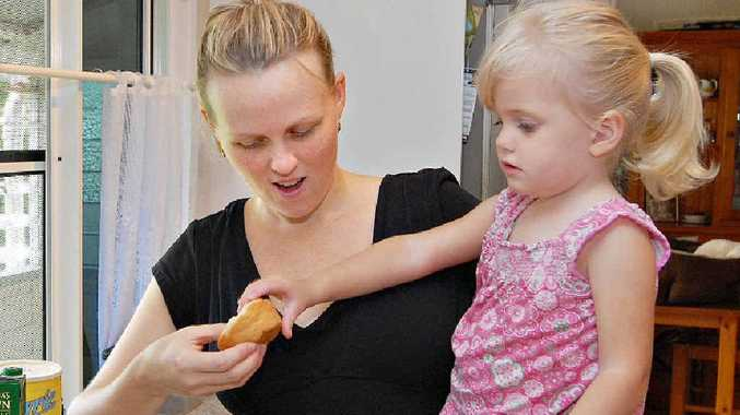 Belinda Wix and her daughter Delilah have engaged the services of integrative health coach Rhonda Muller, who recently started a new business, ASD Healthy Life, which works towards recovering the health of children. Delilah has many food intolerances, so Mrs Wix hand makes all her food.