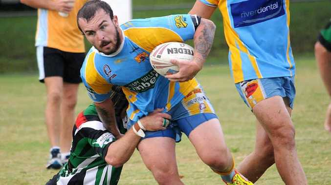 Ben Harney is back from injury and ready for a huge 2012 for the Gympie Devils.