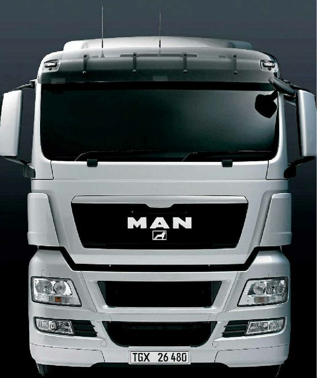 IMPRESSIVE: The TGX 26.540 prime mover features a MAN D26 12.4L 540hp engine that puts out 2500Nm of torque.