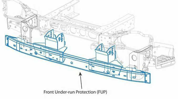 SAFETY MEASURE: Hino claims to be first light truck manufacturer to fit FUPS as standard.