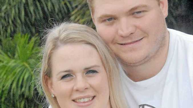 Britny Sutton and Brendan Goodworth have won a wedding in the Whitsundays.
