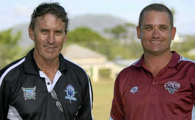 Capras development squad coaches Steve Parle and Aaron Earnshaw are preparing their teams for this weekend's double-header on the Sunshine Coast.