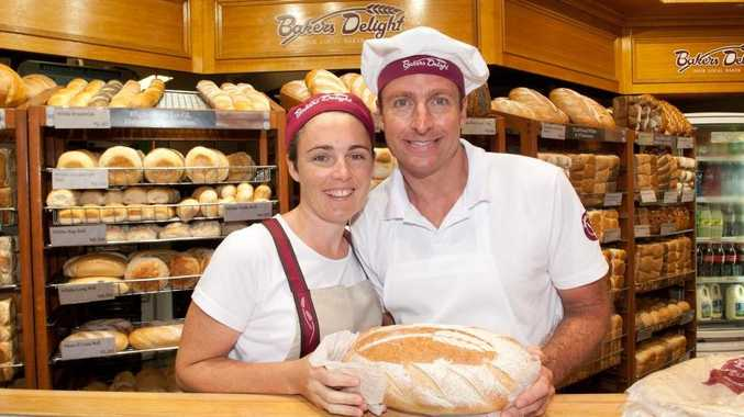 Brendan and Melissa McNie from Bakers Delight