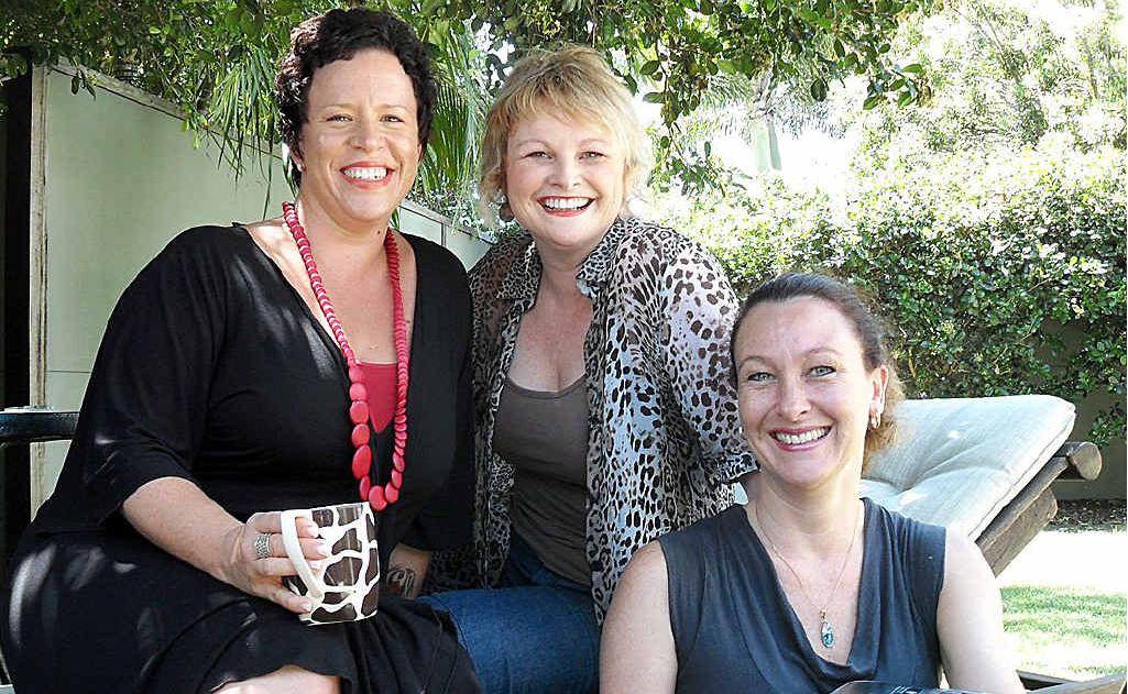 Kylie Patchett, Jill Chivers and Karen Clarke will speak at a workshop for busy Sunshine Coast women.