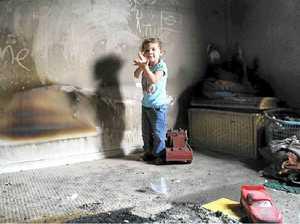 Mum of eight grateful after fire