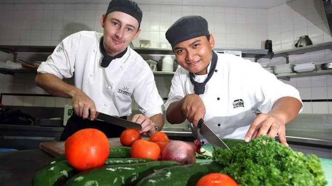 Chefs de cuisine Dylan Osmond and Jonathon Aussieker.