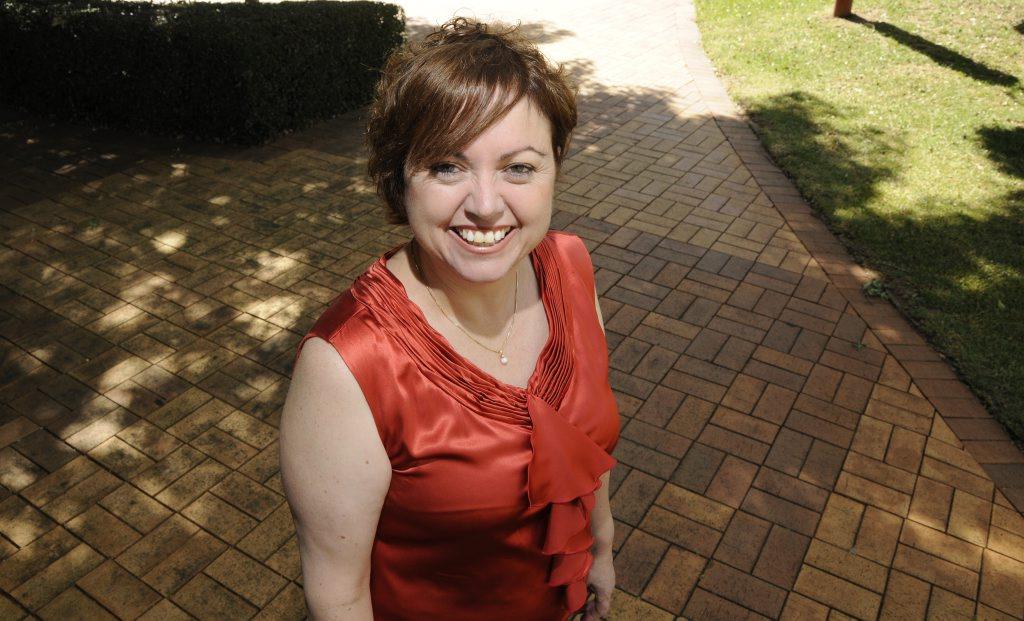 University of Southern Queensland Vice-Chancellor Professor Jan Thomas