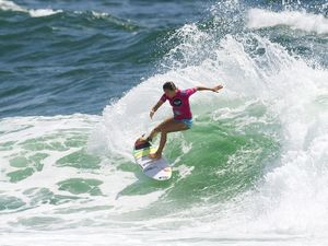 Surf comp awaits cyclone swell