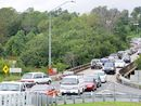 MOTORISTS had better get used to the wait in traffic congestions when Kidd Bridge floods, leaving Normanby the only alternative linking Gympie to Southside.