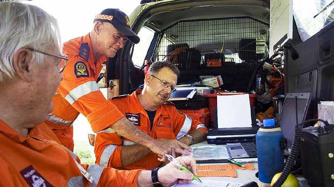 SES crews search for missing woman Tina Greer near Spicers Gap.