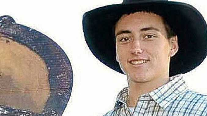 """""""You get nervous every time you get on"""", says young bull rider Joshua Lock. Jacklyn Wagner"""