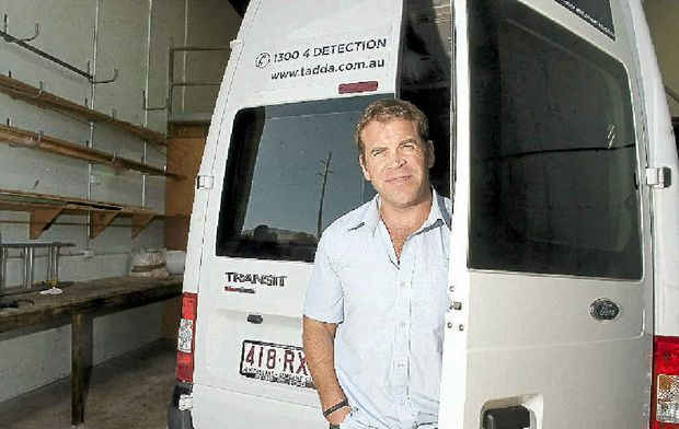 The Australian Drug Detection Agency Queensland chief executive Calum Davie at their head office in Warana.