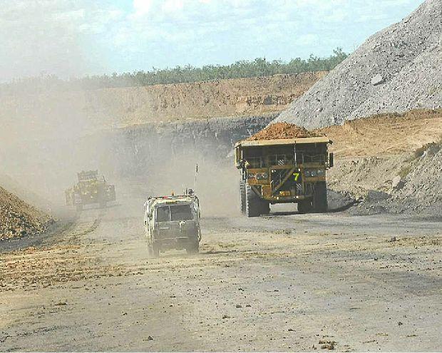 Premier Campbell Newman confirmed increasing coal royalties in Queensland would be