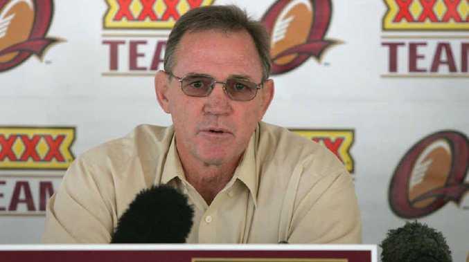 Queensland selector Des Morris.