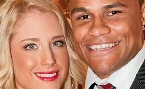 Josh Hoffman and his new wife Emma honeymooned in Hawaii.