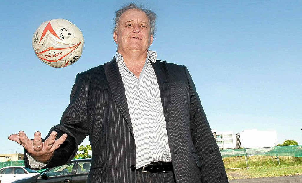 Noel Woodall has a target to take the Sunshine Coast Fire football team to the A-League.