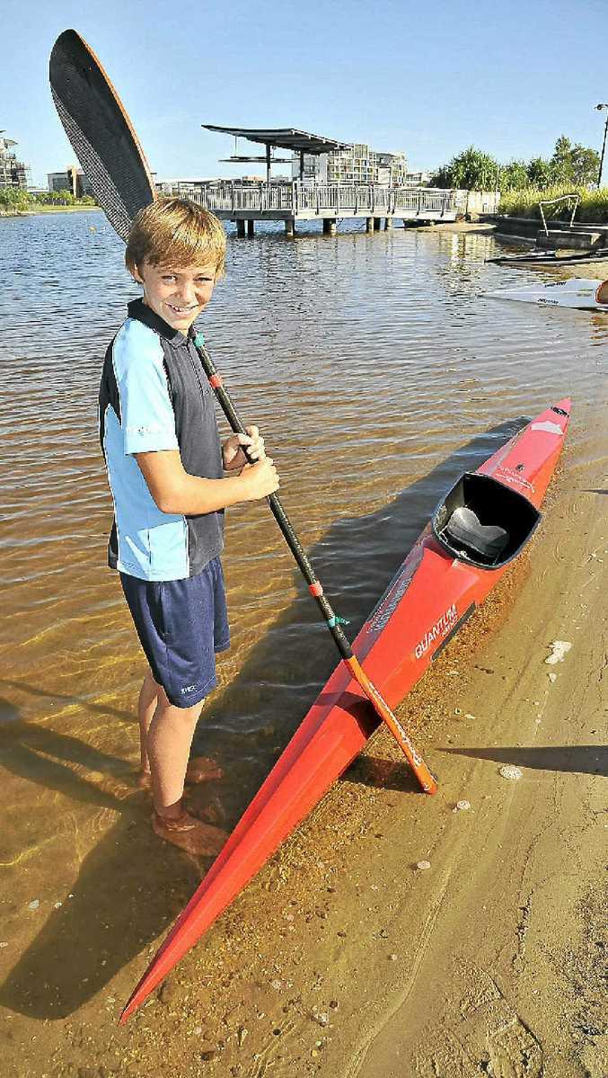 Schultz Toomey O'Brien Student Athlete Awards monthly winner Joshua Jones-Rew, 13.