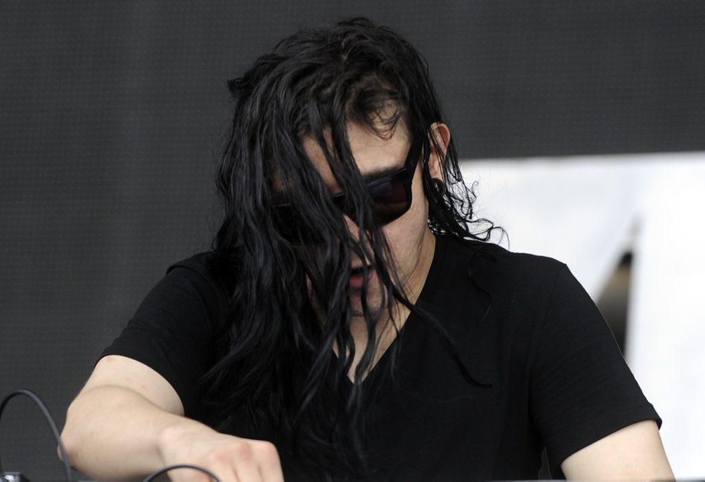 Skrillex at Future Music Festival 2012, Brisbane Dooben Racecourse.