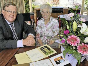 Centenarian has top tip