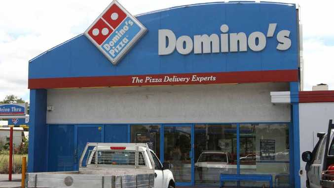 Domino's Pizza on Bridge Street was held up by a woman armed with a knife. This will be the seventh armed robbery of a store in Rockhampton this year.