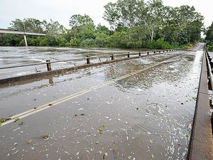 One dead, one missing in flood