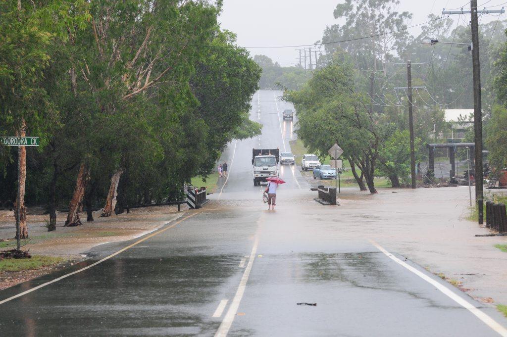 Flooding on the Sunshine Coast in 2012