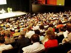 More than 1000 members of the Jehovah's Witness gathered at Maryborough's Brolga Theatre for a special weekend of instruction.