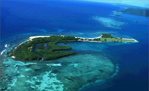 Fort Morgan Cay.