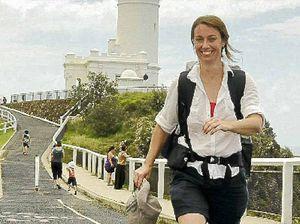 Rachel on the walk of her life