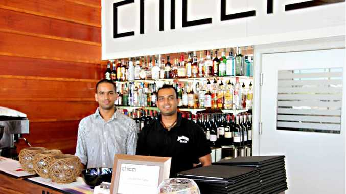 Eric Dhaliwal and Piyush Gupta serve up beautiful food and a fantastic atmosphere at the new Chicci Restaurant at Northern Beaches Central.