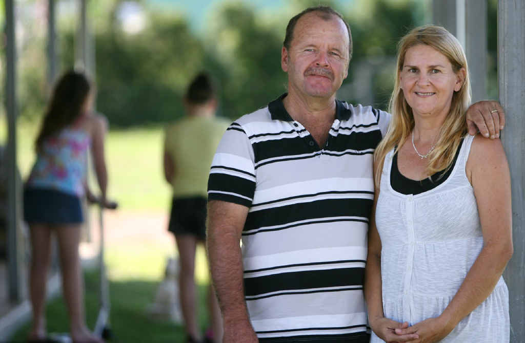 Pictured are foster carers Jeffrey and Sandra Ahern. They are urging others to join them as foster carers.