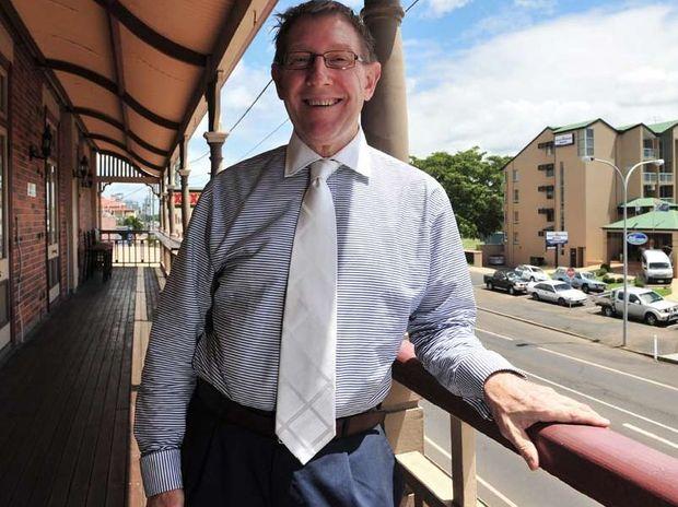 Housing Minister Bruce Flegg.