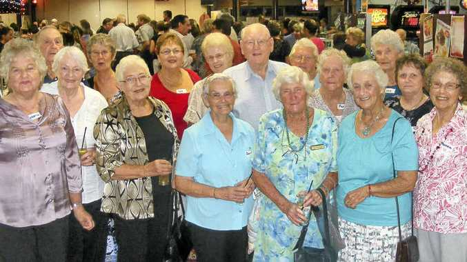 REUNITED: Some of the staff and board members involved with Ballina Hospital before 1970 were among 200 people who gathered for the hospital reunion.