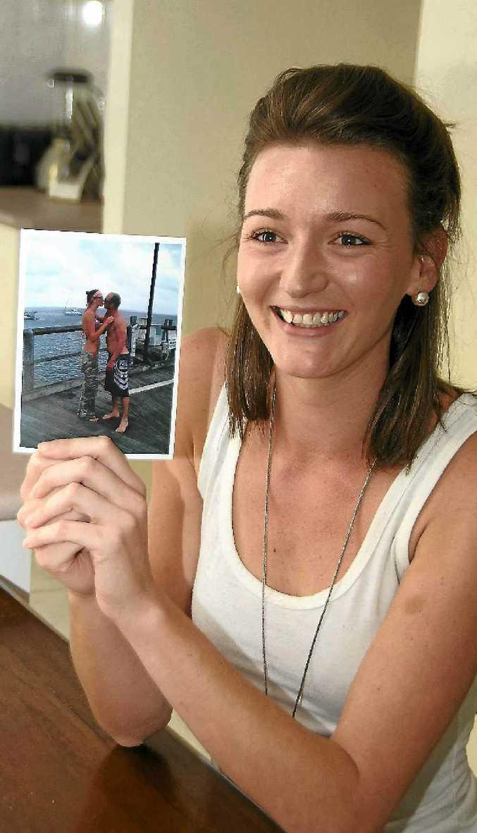 Katie Smith met her boyfriend, Rob Scott, on an internet dating site.