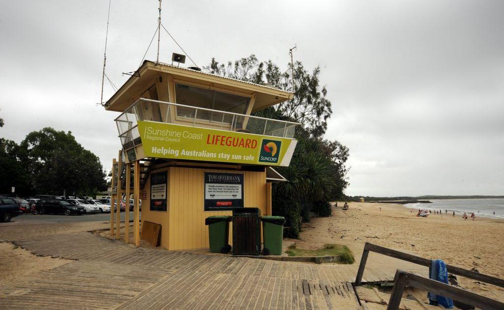 Noosa lifeguard tower.