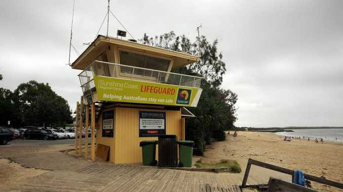 Noosa lifeguard tower.