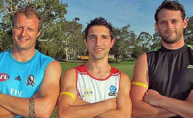 Lismore Swans: Martin Toomey (backline), George Massa (midfield), Shaun Wadwell (ruckman).