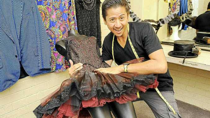 Costume and fashion designer William Kutana of Lennox Head is a production designer with NORPA.