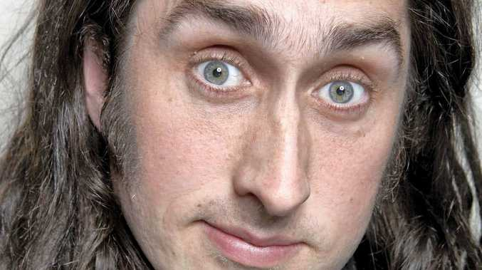 Funny man Ross Noble will be in Mackay on April 6 as part of his Nonsensory Overload show tour at the MECC.