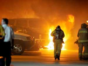 Army Capt faces court over arson