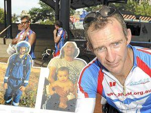 Bundy ambo's charity bike ride