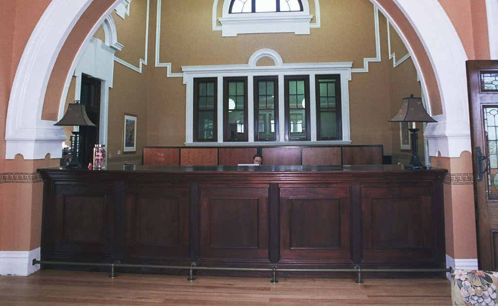 The Longroom after some of the renovations made by Alman Partners.