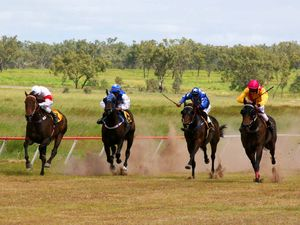 Springsure's St Paddy's Day races