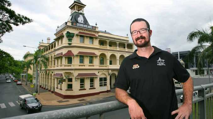 The Criterion Hotel's licensee Ryan Turnbull has called last drinks at Rockhampton's iconic pub.