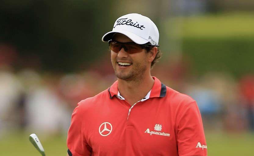 Adam Scott is the top-ranked Australian in world golf.