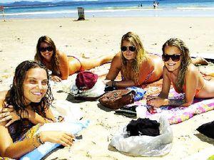 Tourists support 'best' beach