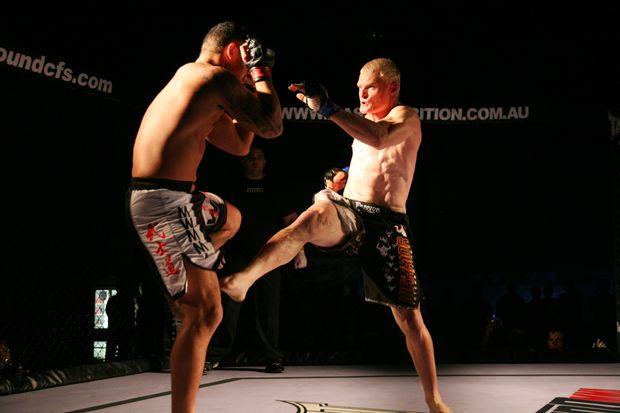 Mixed martial arts action