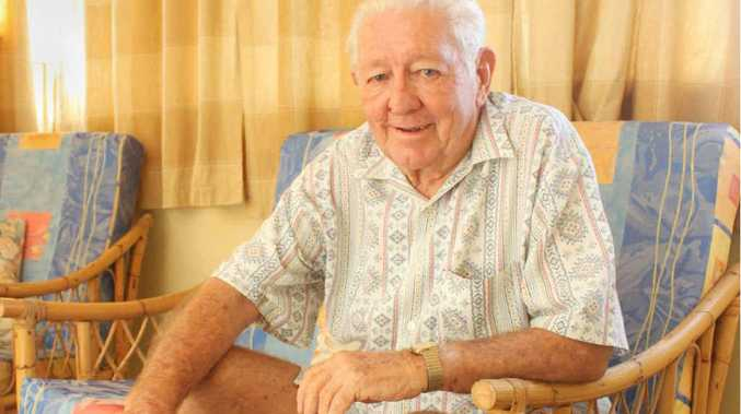 Colin Ramsden, president of the North Rockhmapton Senior Citizens Club, is concerned about the cost of living and how it affects older people.
