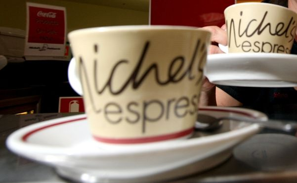 Andrea D'Agnostino, of Murwillumbah's Michel's Patisseries, is celebrating the chain's success at winning coffee of the year.